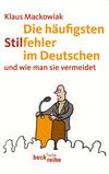 Die häufigsten Stilfehler im Deutschen