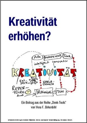 Kreativität erhöhen?