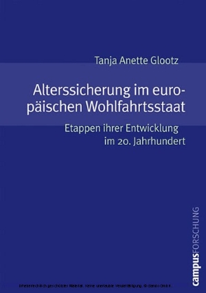 Alterssicherung im europäischen Wohlfahrtsstaat