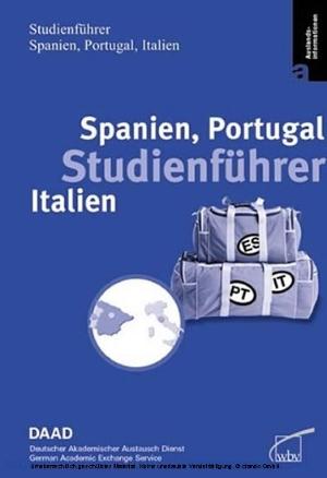 Studienführer Spanien, Portugal, Italien