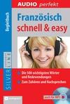 Vergrößerte Darstellung Cover: Französisch schnell & easy. Externe Website (neues Fenster)