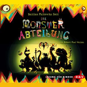 """Bastian Pastewka liest """"Die Monsterabteilung"""" von Robert Paul Weston"""