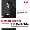 "Katharina Thalbach und Sylvester Groth lesen Bertolt Brecht ""100 Gedichte"""