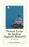 Vergrößerte Darstellung Cover: In Sachen Signora Brunetti. Externe Website (neues Fenster)