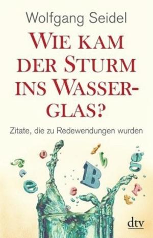 Wie kam der Sturm ins Wasserglas?