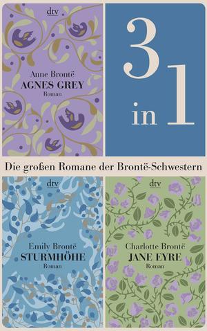 Die großen Romane der Brontë-Schwestern (3in1-Bundle)