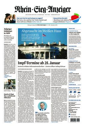 Kölner Stadt-Anzeiger / Rhein-Sieg-Anzeiger (12.01.2021)