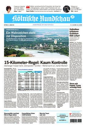 Kölnische Rundschau (13.01.2021)