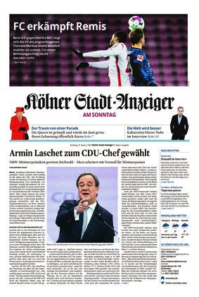 Kölner Stadt-Anzeiger / Rhein-Sieg-Anzeiger (17.01.2021)