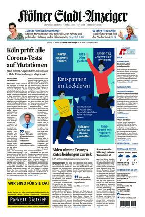 Kölner Stadt-Anzeiger (22.01.2021)