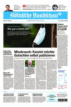 Kölnische Rundschau (23.01.2021)