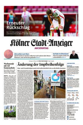 Kölner Stadt-Anzeiger / Rhein-Sieg-Anzeiger (21.02.2021)