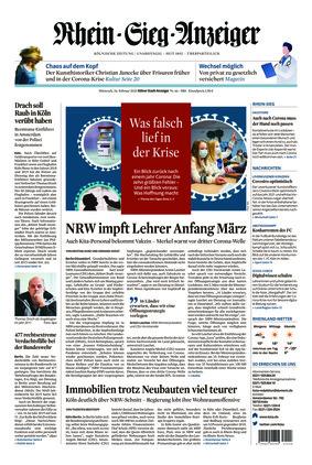 Kölner Stadt-Anzeiger / Rhein-Sieg-Anzeiger (24.02.2021)