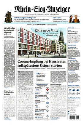 Kölner Stadt-Anzeiger / Rhein-Sieg-Anzeiger (04.03.2021)