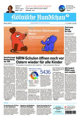 Kölnische Rundschau (06.03.2021)