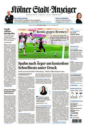 Kölner Stadt-Anzeiger (08.03.2021)