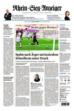 Kölner Stadt-Anzeiger / Rhein-Sieg-Anzeiger (08.03.2021)