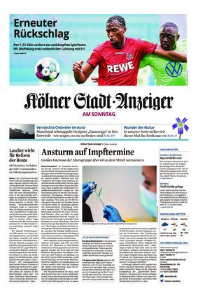 Kölner Stadt-Anzeiger / Rhein-Sieg-Anzeiger (04.04.2021)