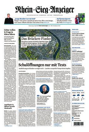 Kölner Stadt-Anzeiger / Rhein-Sieg-Anzeiger (08.04.2021)