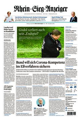 Kölner Stadt-Anzeiger / Rhein-Sieg-Anzeiger (12.04.2021)