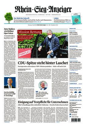 Kölner Stadt-Anzeiger / Rhein-Sieg-Anzeiger (13.04.2021)