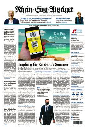 Kölner Stadt-Anzeiger / Rhein-Sieg-Anzeiger (07.05.2021)