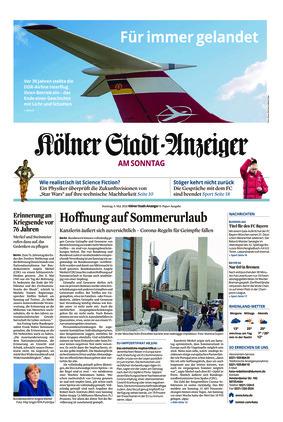 Kölner Stadt-Anzeiger / Rhein-Sieg-Anzeiger (09.05.2021)