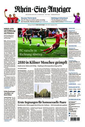 Kölner Stadt-Anzeiger / Rhein-Sieg-Anzeiger (10.05.2021)