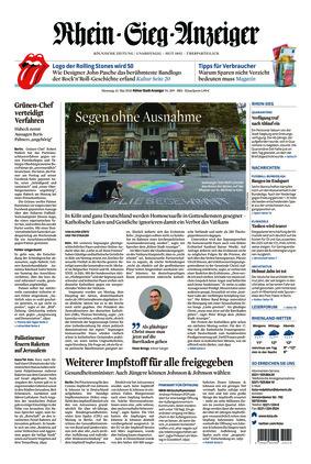 Kölner Stadt-Anzeiger / Rhein-Sieg-Anzeiger (11.05.2021)