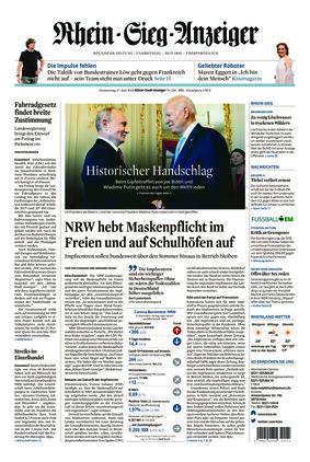 Kölner Stadt-Anzeiger / Rhein-Sieg-Anzeiger (17.06.2021)