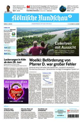 Kölnische Rundschau (19.06.2021)