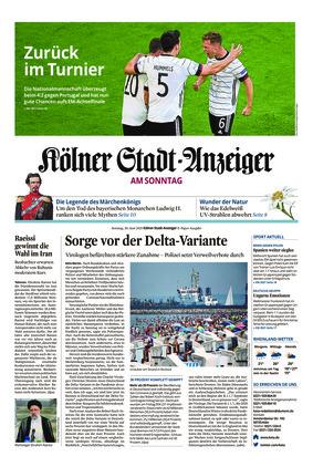Kölner Stadt-Anzeiger / Rhein-Sieg-Anzeiger (20.06.2021)