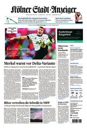Kölner Stadt-Anzeiger (21.06.2021)