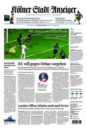 Kölner Stadt-Anzeiger (24.06.2021)