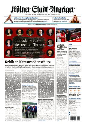 Kölner Stadt-Anzeiger (20.07.2021)