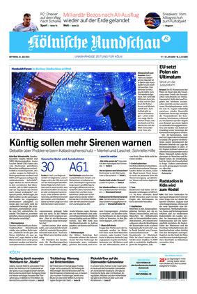 Kölnische Rundschau (21.07.2021)