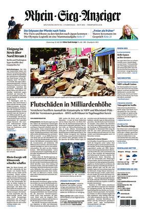 Kölner Stadt-Anzeiger / Rhein-Sieg-Anzeiger (22.07.2021)