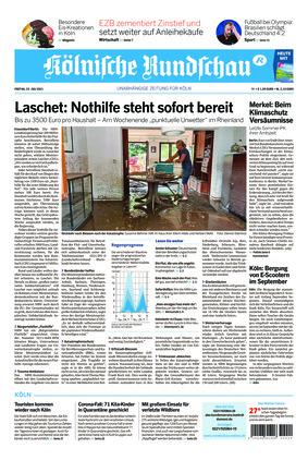 Kölnische Rundschau (23.07.2021)