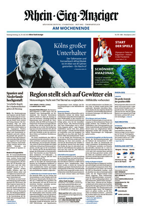 Kölner Stadt-Anzeiger / Rhein-Sieg-Anzeiger (24.07.2021)