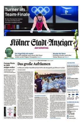 Kölner Stadt-Anzeiger / Rhein-Sieg-Anzeiger (25.07.2021)