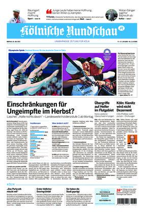 Kölnische Rundschau (26.07.2021)