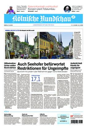 Kölnische Rundschau (27.07.2021)