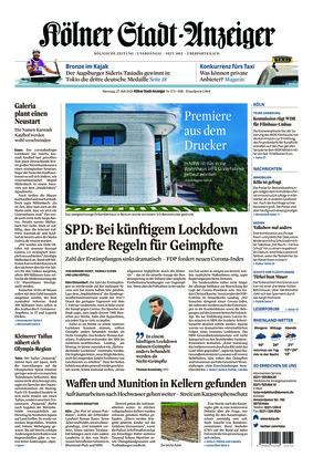 Kölner Stadt-Anzeiger (27.07.2021)