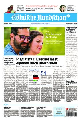 Kölnische Rundschau (31.07.2021)