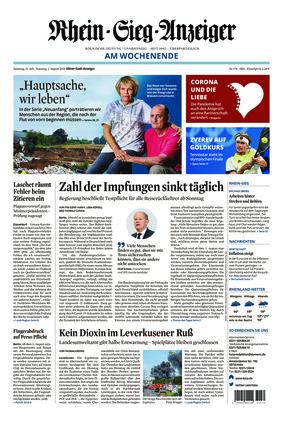 Kölner Stadt-Anzeiger / Rhein-Sieg-Anzeiger (31.07.2021)