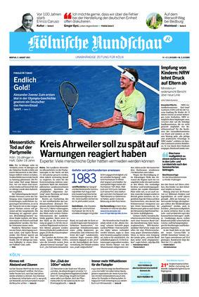 Kölnische Rundschau (02.08.2021)