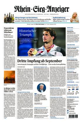 Kölner Stadt-Anzeiger / Rhein-Sieg-Anzeiger (02.08.2021)