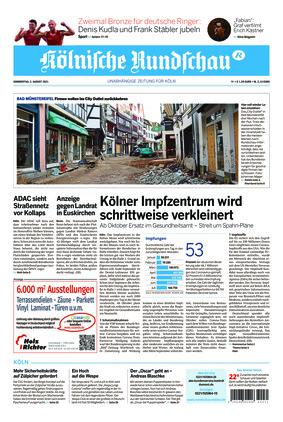 Kölnische Rundschau (05.08.2021)