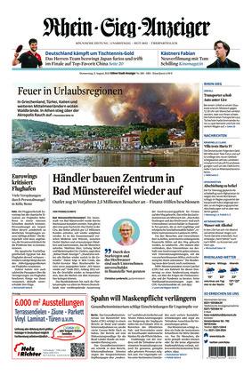 Kölner Stadt-Anzeiger / Rhein-Sieg-Anzeiger (05.08.2021)