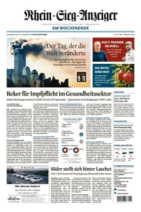 Kölner Stadt-Anzeiger / Rhein-Sieg-Anzeiger (11.09.2021)